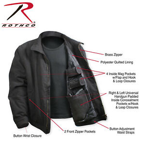 Rothco Men's Concealed Carry 3 Season Jacket  # 53385