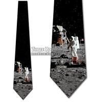 Lunar Landing Tie Moon Astronaut Men's Holiday Neck Ties Brand New