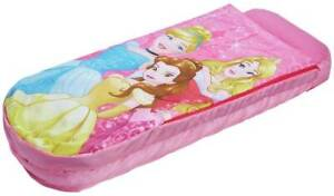 Disney Princess Junior ReadyBed Air Bed and Sleeping Bag makes It Easy To Fold
