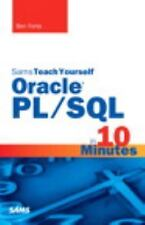 NEW - Sams Teach Yourself Oracle PL/SQL in 10 Minutes by Forta, Ben