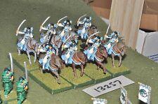 25 mm japonais Clan Wars morts-vivants Samurai Cavalry 8 Cavalerie (13257)