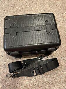 Calpak Vanity Case- Black, Used, Make Up, Carry On