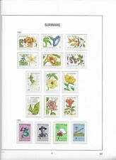 1983 MNH Republiek Suriname year collection according to DAVO
