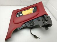 BENTLEY CONTINENTAL GT REAR RIGHT DOOR PANEL TRIM LEATHER RED 3W7867216
