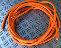 5m 1.5mm sq MAINS HIVIS ORANGE HOOKUP HOOK UP CABLE LEAD WORKSHOP CAMPER CARAVAN