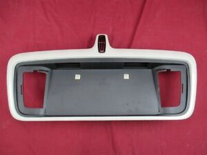 NOS OEM Lincoln LS Sport Package License Plate Housing 2006 CASHMERE