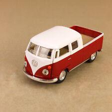 1963 Volkswagen Microbus Twincab Kombi Ute 1:34 Scale 12cm Diecast Model Red VW