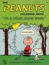 Peanuts coloring book RARE