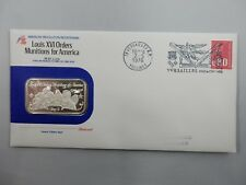 AMERICAN REVOLUTION, .999 SILVER, MUNITIONS FOR AMERICA, 1ST DAY COVER  #Z21