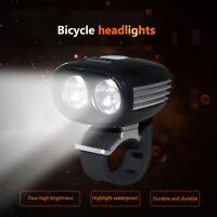 Ultra Bright U2 LED Cycling Bike Bicycle Front Light Lamp Headlight Rechargeable