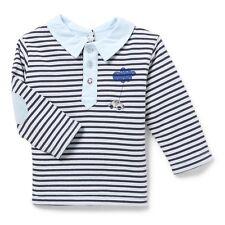 Polo Rayé Bleu et Marine  Un Amour de Marese Bascule Marese  Taille 1 Mois