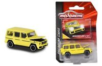 Majorette 1/64 Premium Cars Mercedes Benz AMG G63 (Yellow) Diecast Car 3052Q04
