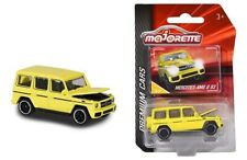 Majorette 1/64 Premium Cars Mercedes Benz AMG G63 (Yellow) Diecast Car 3052Q04