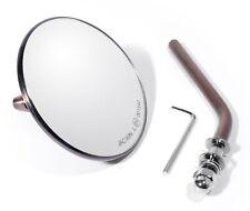 Mini Spiegel Kupfer Retro für Harley Davidson Chopper Bobber Custom Mirror ECE !