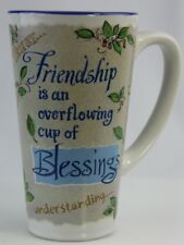 "Abbey Press Mug ""Friendship is an overflowing cup of Blessings"" Sunshine 16 oz"