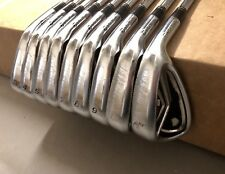 TaylorMade R9 TP Irons 3-PW/AW KBS Tour Stiff Steel Golf Set