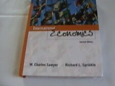 International Economics by W. Charles Sawyer and Richard L. Sprinkle (2004,...