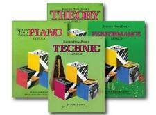 Bastien Piano Basics Level 3 (4 book set) Performance Technic, Theory Piano pack