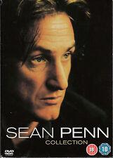 coffret SEAN PENN 5 DVDS TAPS STATE OF GRACE COLORS DEAD MAN WALKING 21 GRAMS