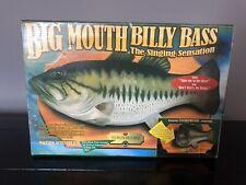 Big Mouth Billy Bass Singing Fish The Singing Sensation