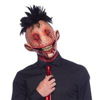 Folat Horror Latex Maske Grusel Mohawk Halloween Karneval Fasching Party