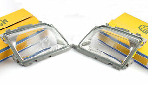 R129 W129 SL Headlight Glass Diffusion Panel Mercedes-Benz Left Right Set