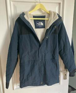 The North Face Mountain Jacket s blau small Jacke Parka