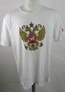 Team Russia International Soccer Men's White T-Shirt