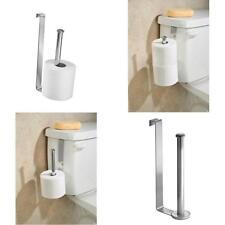 Mdesign Over The Tank Toilet Tissue Paper Roll Holder Dispenser And Reserve For