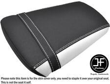 DSG 2 GRIP WHITE VINYL CUSTOM FITS YAMAHA YZF 600 R6 99-02 REAR SEAT COVER