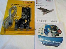 Delock PCI Karte FireWire 3+1 Port