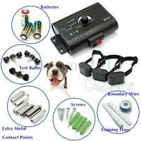 Waterproof 1/2/3 dogs Underground Shock Collar Electric Dog Fence Fencing System