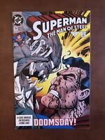 Superman: The Man of Steel #19 (1993) 9.2 NM DC Key Issue Comic Book Doomsday