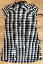 Bench Oberteil, Größe:M; Karriert schwarz / weiß; Top-zustand, Baumwolle 100%