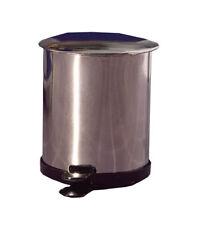 Cubo con pedal de metal, Casa De Muñecas Miniaturas, Accesorio Escala 1:12