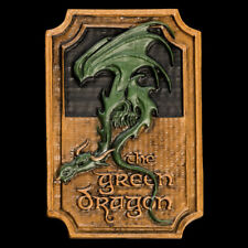 Weta Workshop Lord of the Rings THE GREEN DRAGON Sign Magnet