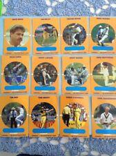 Australian Test Cricketers cards Seventeen Scanlens Stimorol 1989 WB1