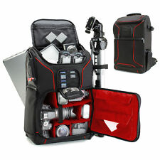 Digital SLR Camera Backpack with Laptop Compartment , Rain Cover , Lens Storage