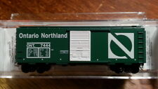 Micro Trains 02000836 ONT ONTARIO NORTHLAND 40' Boxcar #7444