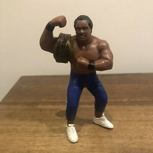 WCW Ron Simmons Galoob UK Exclusive Vintage Action Figure 1991 with belt