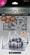 Metallic Nano 3D Laser Cut Puzzle Taj Mahal Premium Series Tenyo