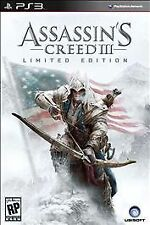 Assassin's Creed III -- Limited Edition (Sony PlayStation 3, 2012)