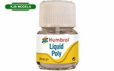 Humbrol 28ml Liquid Poly Cement With Brush - Plastic Model Glue