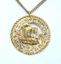 Yellow Gold Plated Handmade Costume Necklaces & Pendants