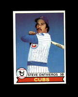 Steve Ontiveros Hand Signed 1979 Topps Chicago Cubs Autograph