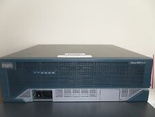 Cisco 3845-CCME/K9 Router w/ PVDM2-64 CME 8.6 adventerprise-15.1 ios 1GigD/256F