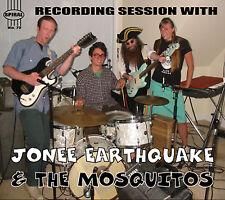 JONEE EARTHQUAKE AND THE MOSQUITOS CD Boston Punk Surf Rockabilly