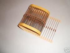 100 x 1m resistori 5% 1 / 4W E12 serie RESISTORE cr25