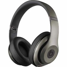 Beats by Dr. Dre - Beats Studio 2 Wireless Over-Ear Headphones  Titanium Genuine