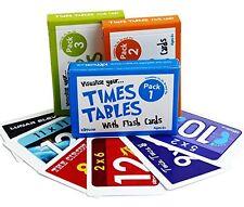 TAVOLE TIMES Flash Cards SET COMPLETO (TRIPLE PACK) DA kippson
